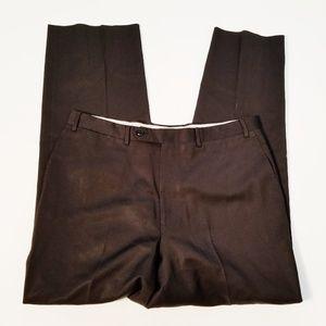 Canali Black Wool Dress Pants Size 34